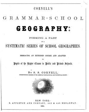 Cornell s Grammar school Geography