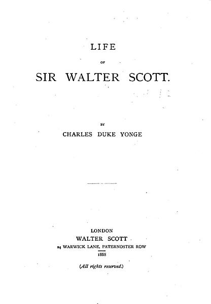 Download Life of Sir Walter Scott Book
