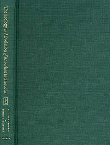The Ecology and Evolution of Ant Plant Interactions Book