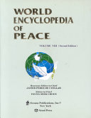 World Encyclopedia of Peace PDF