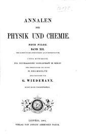 Annalen der Physik: Band 3;Band 12;Band 248