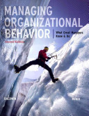 Managing Organizational Behavior  What Great Managers Know and Do PDF