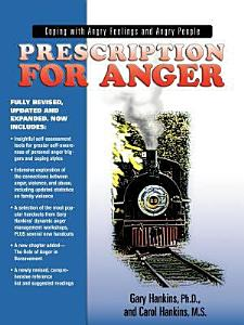 Prescription for Anger Book