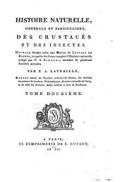 Histoire naturelle, générale et particulière des crustacés et des insectes: Volume12