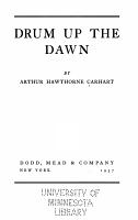 Drum Up the Dawn PDF