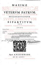 Maxima Bibliotheca Veterum Patrum