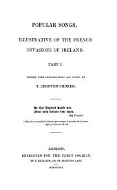 Popular Songs, Illustrative of the French Invasions of Ireland
