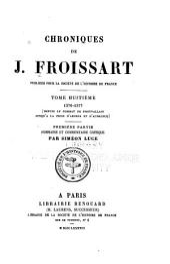 Chroniques de J. Froissart: Volume8