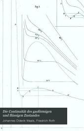 Die Continuität des gasförmigen und flüssigen Zustandes: Band 1