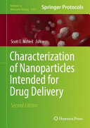 Characterization of Nanoparticles Intended for Drug Delivery PDF