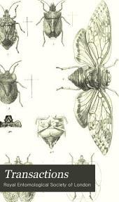 Transactions of the Royal Entomological Society of London: Volume 29; Volume 1881