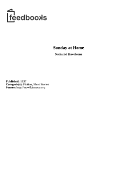 The Sunday at home  and overseas   PDF