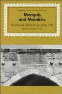Mongols and Mamluks