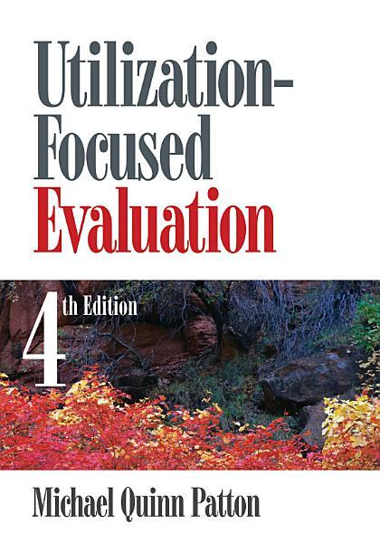 Download Utilization Focused Evaluation Book