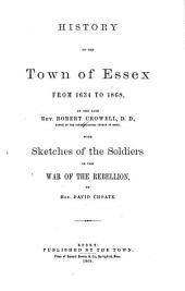 History of the Town of Essex: From 1634 to 1868