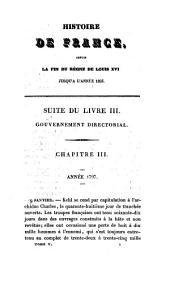 Histoire de France: depuis la fin du règne de Louis XVI jusqu'à l'année 1825, Volume5