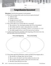 Flora & Ulysses--The Illuminated Adventure Comprehension Assessment