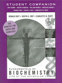 Student Companion to accompany Fundamentals of Biochemistry PDF