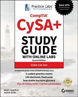 CompTIA CySA  Study Guide  Exam CS0 002   Lab Card Bundle PDF