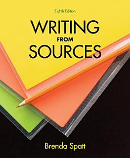 Writing from Sources Book