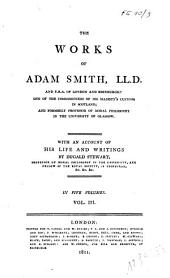 The Works of Adam Smith: Volume 3