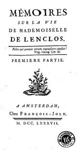 Mémoires sur la vie de mademoiselle de Lenclos
