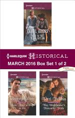 Harlequin Historical March 2016 - Box Set 1 of 2
