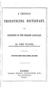 Pronouncing dictionary