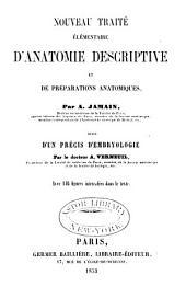 Nouveau traité élémentaire d'anatomie descriptive: et de préparations anatomiques