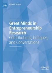 Great Minds in Entrepreneurship Research PDF