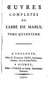 Oeuvres complètes: Volume15