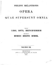 Corpus Reformatorum: Volumes 1-28