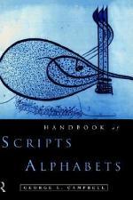 Handbook of Scripts and Alphabets
