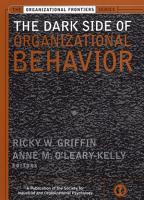The Dark Side of Organizational Behavior PDF