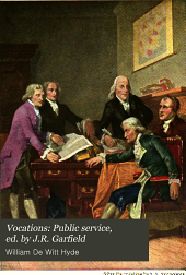 Vocations: Public service, ed. by J.R. Garfield
