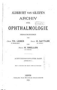 Albrecht von Graefes Archiv f  r Ophthalmologie PDF