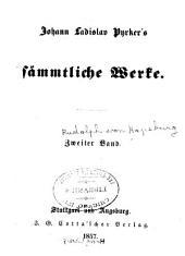 Johann Ladislav Pyrker's Sämmtliche Werke: Bände 2-3