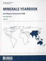 Minerals Yearbook  2008  V  3  Area Reports  International  Asia and the Pacific PDF
