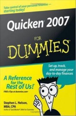 Quicken 2007 For Dummies PDF