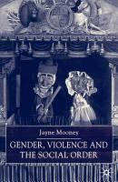 Gender  Violence and the Social Order PDF