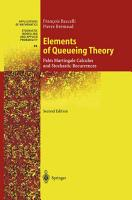 Elements of Queueing Theory PDF