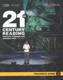 21st Century Reading 3 Teacher s Guide PDF