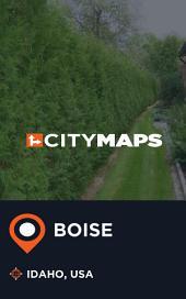 City Maps Boise Idaho, USA