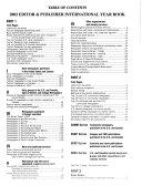 Editor   Publisher International Year Book  2002 PDF