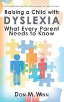 Raising a Child with Dyslexia