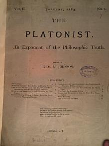 The Platonist  ed  by T  M  Johnson PDF