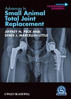 Advances in Small Animal Total Joint Replacement PDF