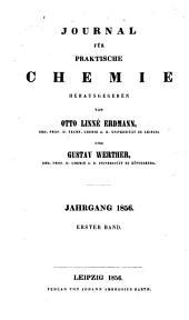 Journal für praktische Chemie: Bände 67-69