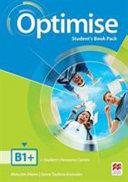 Optimise B1+ (Intermediate) Student's Book Pack