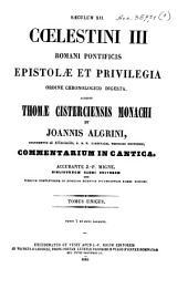 Patrologiae latina cursus completus ... series secunda: Volume 206